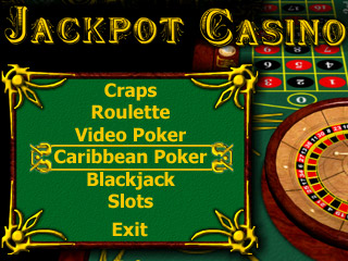 Casino game pack (blackjack, craps, poker, roulette, two slot machines) for Pocket PC